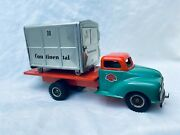 Gama Container Truck Continental Lkw Friction Tin Toy Truck Rare