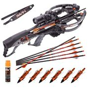 Ravin R26 400 Fps Crossbow + Broadheads - Qty 6 Shoulder Sling And String Fluid