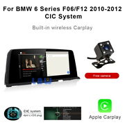 8-core Android Car Gps Navi Video Wireless Carplay For Bmw 6 Series F06 F12 2010