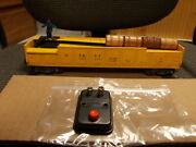 Lionel Scarce 3562-50 Painted Yellow Barrel Car W 4 Barrels And 96c