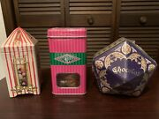 Universal Studios Harry Potter Honeydukes Candy In Metal Collector Tins