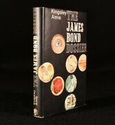1965 The James Bond Dossier Kingsley Amis Signed 1st Edition With Dustwrapper