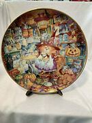 Franklin Mint Bill Bell Cat Plates. Halloween,valentine's Day,easter, Christmas