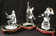 Crystal Figurinesmasquerade Trilogy-with Original Boxes Rare Lot