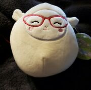 Squishmallow 5andrdquo Lily The Lamb Wearing Glasses Nwt 2021 Easter