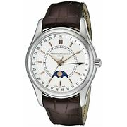 Frederique Constant Pointer Date Moonphase Automatic Menand039s Watch 43mm Fc-330v6b6