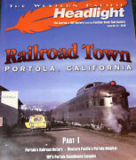 Western Pacific Rr The Headlight Magazine Feather River Rail Society Lot Of 5