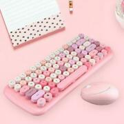 2.4g Wireless Keyboard And Mouse Combo Set Usb Receiver For Pc Laptop Desktop