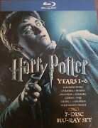 Harry Potter Years 1-6 Collection Blu-ray Disc, 2009, 7-disc Set