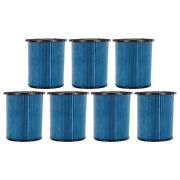 7 Pack 3-layer Cartridge Filters 72952 For Ridgid Vf5000 5-20 Gal Wet Dry Vacs