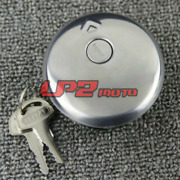Fuel Gas Tank Cap Cover With Key For Suzuki Gn250 1982-1983