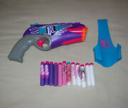 Nerf Rebelle Dart Blaster Toy Pistol Includes 13 Darts And Holster