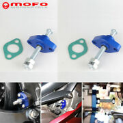 Pair Blue Manual Timing Cam Chain Tensioner Adjuster For Suzuki All Sv650/650s