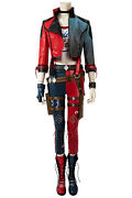 Suicide Squad Kill Justice League Harley Quinn Full Set Cosplay Costume + Shoes