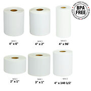 Shipping Roll Paper Labels Compatible With Brother Td-4000 Td-4100n D-2020 Tapes