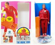 Kenner The Six Million Dollar Man The Bionic Man In Reproduction Box 2