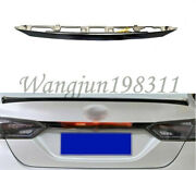 Accessories Black Rear Door Trunk Led Tail Light Cover For Toyota Camry 18-2020
