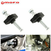 2pc Black Motorcycle Manual Timing Cam Chain Tensioner For Suzuki All Sv650/650s
