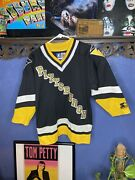 Pittsburgh Penguins Jersey Vintage 1990s Youth Small Starter Preowned Nhl Kids