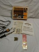Vintage 70s Wonder Pen Woodburning Craft American Toy Co. 2 Pens And Tips In Box