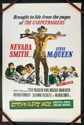 Nevada Smith 1966 Steve Mcqueen Original Uk Double Crown Poster .30 X 20 Inches
