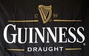 3x5ft Guinness Traditional Flag Irish Beer Bar Restaurant Party Dorm St Pattyand039s