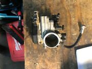 2012 Suzuki Rmz Throttle Body Assembly With Injectors And Throttle Cable/tube