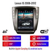 For Lexus Is250 Is300 Is350 Car Gps Navigation Radio Stereo Headunit Wifi 4+64g