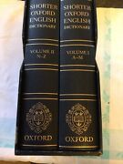 Shorter Oxford English Dictionary Deluxe Sixth Edition