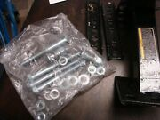 Spare Tire Wheel Mount Kit Heavy Duty Bracket / Carrier For 4 And 5 Lugs 93341