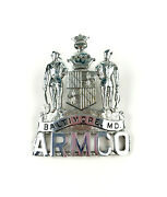 Baltimore Md Armco Steel Inc Special Police Force Screw Back Hat Badge Obsolete