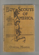 Boy Scouts Of America. Official Manual. Original Edition 1910 Rare- Doubleday