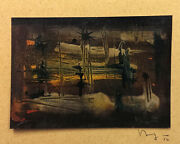 Seong Moy Chinese And03956 Chinese American Abstract Expression Painting