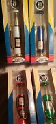 Lot Of 4 Gearbox Route 66 Vintage Wayne Die Cast Toy Gas Pump Collectible In Box