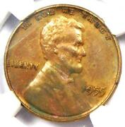 1955 Doubled Die Obverse Lincoln Cent 1c Ddo - Certified Ngc Unc Detail Ms