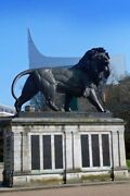 Maiwand Lion The Blade Forbury Gardens Reading Berkshire Uk Photograph Picture
