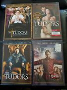 The Tudors Complete Series Seasons 1 - 4 Dvd Season 2 And 4 Are Brand New
