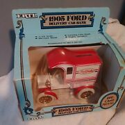 Ertl 1905 Ford Delivery Car Coin Bank - True Value 1/25 Scale