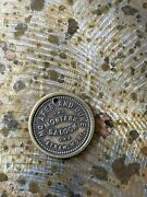 Montana Token - Straw Mont Mcafee And Duke Saloon Gf One Drink Or Cigar
