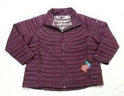 Womens Plus 3x Columbia White Out Omni Heat Insulated Lightweight Jacket