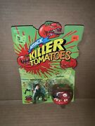Vintage 1991 Attack Of The Killer Tomatoes Wilbur Finletter And Beefsteak Moc