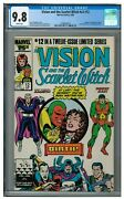 Vision And The Scarlet Witch V2 12 1986 Key 1st Wiccan And Speed Cgc 9.8 Hh426