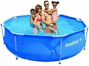 Avenli Stainless Steel Above Ground Swimming Pool 10ft X 30in For Parts Only