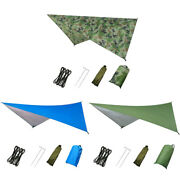 Waterproof Outdoor Picnic Mat Tent Hiking Camping Patio Canopy Awning Cloth Best