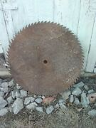 Vintage 29 Inch Large Sawmill Rustic Buzz Saw Mill Blade