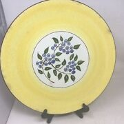 Stangl Pottery-blueberry- Large 14.25andrdquo Platter -chop Plate-trentonnj 1960and039s
