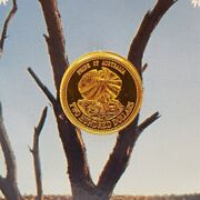 22ct 10gr Gold Australian Coin - 200 1989 Pride Of Australia - In Pack 53772