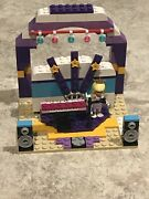 Lego Friends Rockstar Concert Stage And Dressing Room