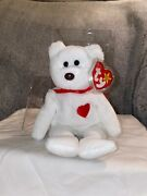 Ty Beanie Baby - Valentino 1993/1994 P.v.c Pellets Rare Brown Nose With Errors
