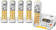 Uniden D3097-5 Cordless Amplified Phone W/ Big Buttons And 4 Extra Handsets